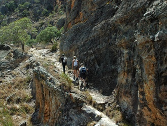 Hike through the Isalo National Park