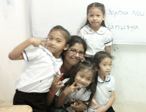 Volunteer Orphanage Project in Cambodia