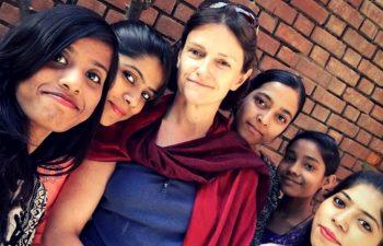 volunteering experience in India