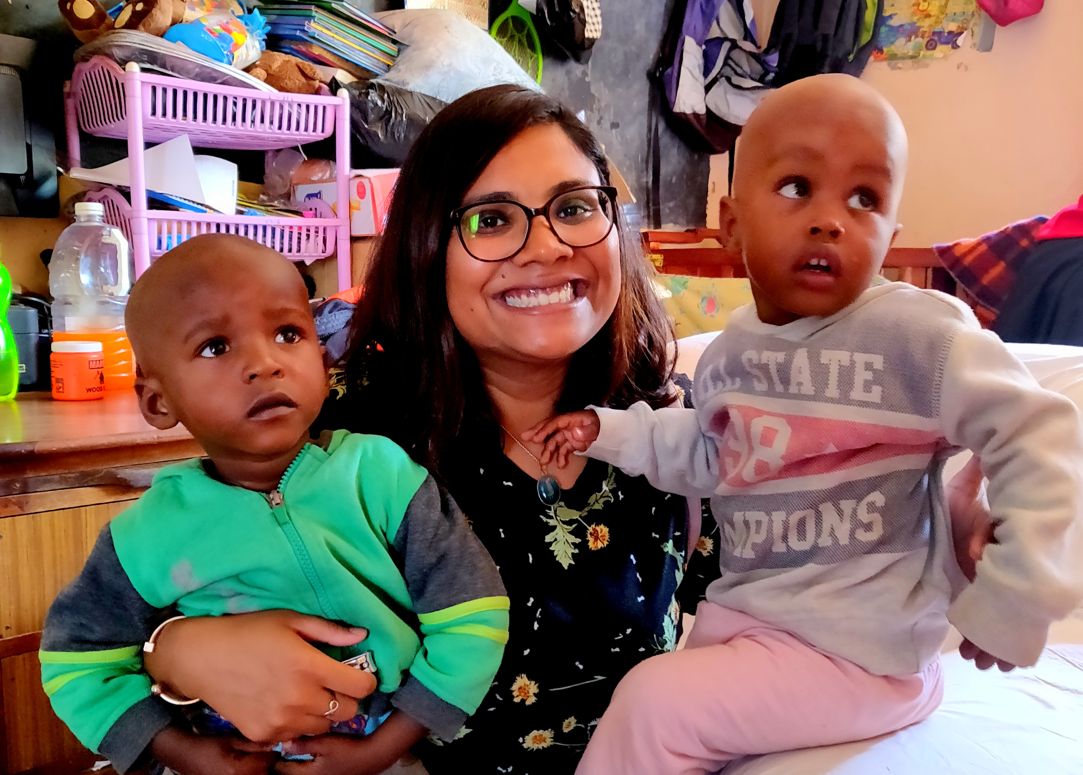 volunteering experience in Kenya