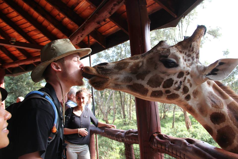 work with animals in Kenya